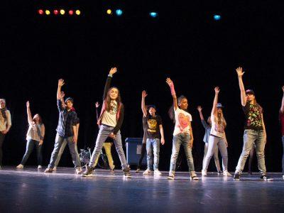 Dans optreed (2)