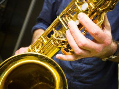 Saxofoon muziekles