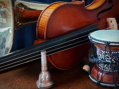 muziek instrumentenproeverij