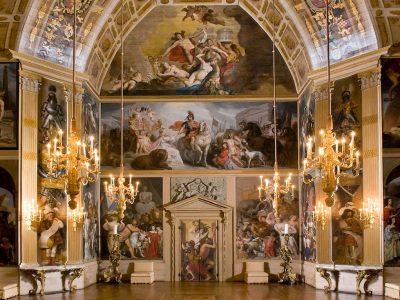 Oranjezaal, Koninklijke Paleis Huis ten Bosch, noordkant